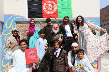 Artists at the Yellow House Jalalabad